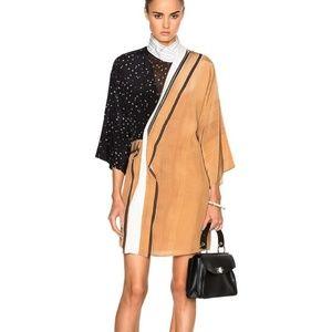3.1 Phillip Lim Mix Print Kimono Silk Dress